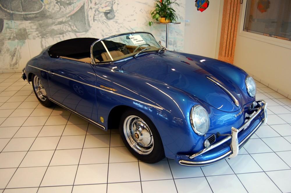 1957_Porsche_356_Speedster_at_Auto_Salon_Singen